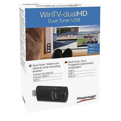 Hauppauge WinTV-dual HD - Dual, Triple Mode, TV Tuner for Freeview - Box Damaged