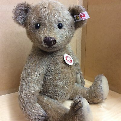 Steiff Jointed 14 Inch Mohair Bear Vincenz New For 2016 White Label