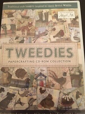 Tweedies Papercrafting Collection CD-ROM Craft Cd Abigail Mill Designs New