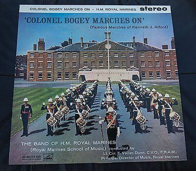 The Band of H.M Royal Marines (Vinyl LP) Colonel Bogey Marches On