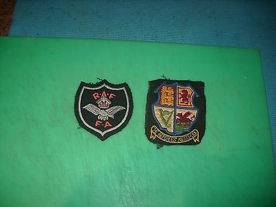 Ww 2 Raf Fa And Referees Ass Sew On Badges