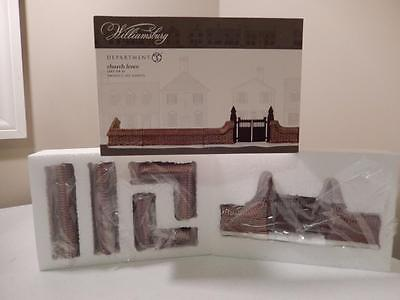 Department 56 - (NEW) Colonial Williamsburg Church Fence #4018975