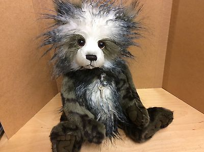 Charlie Bears Keeley 15.5 Inch Plush Jointed Bear From 2016 Collection