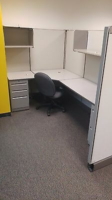 Herman Miller A02 Cubicles Workstations 6 x 8ft Office Furniture