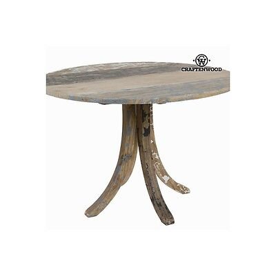 Table ronde moderne décapée - Collection Poetic by Craften Wood