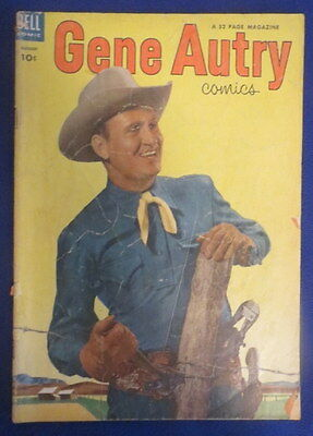 Dell Comics - Gene Autry - August 1953 - Very Good