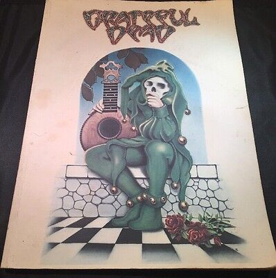 Grateful Dead Songbook Ice Nine Publishing 1973 Guitar Lyrics Music