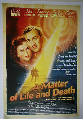 Powell & Pressburger - A Matter of Life and Death - 27 x 40 inch poster