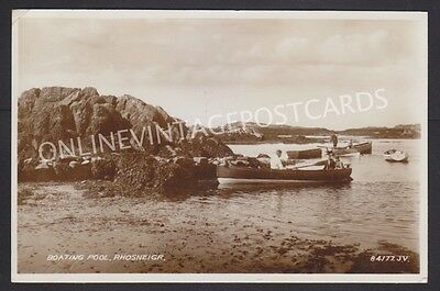 Anglesey Boating Pool Rhosneigr Super Real Photo