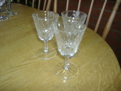 Vintage 3 Small Patterned Glasses