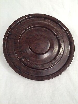 Vintage Sunbeam Mixmaster Mixer Brown Bowl Turntable 038-092220 replacement