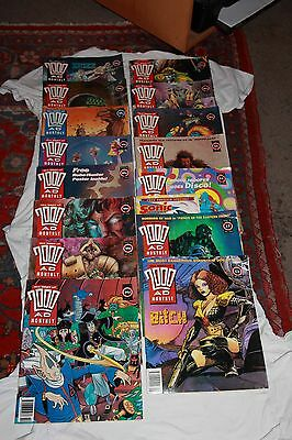 Comics: 15 x The Best of 2000AD Monthly#82 to 96 (1992 to 1993)