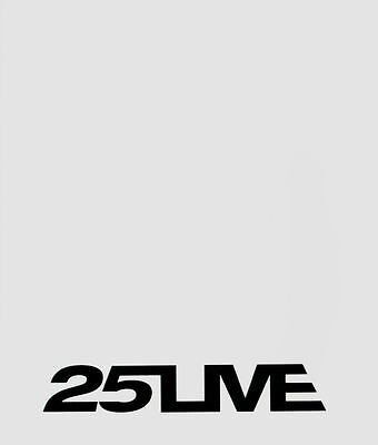 GEORGE MICHAEL - Official 25 Live USA Tour Programme.WHITE