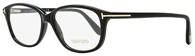 TOM FORD AUTHENTIC  EYEGLASSES TF FT 5316 001 54mm RX-ABLE BLACK  ITALY