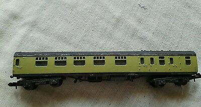 A model railway coach in N gauge by trix unboxed
