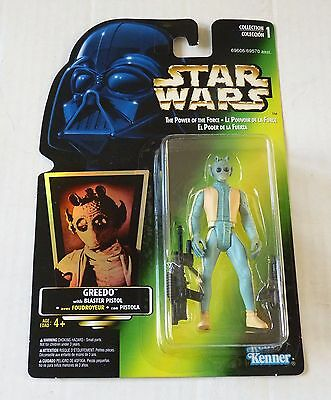 1996 Canadian  Potf - Greedo With Blaster Pistol - Collection 1