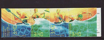 Finland 1996 MNH - Olympic Games - booklet with 4 stamps