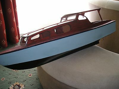 """""""sea Rover  R/c Model Boat Plan+Templates+Instructions To Make"""