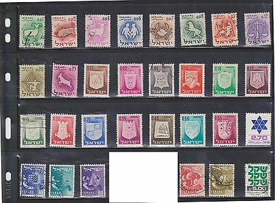 (U2-2) 1949-67 Israel mix of 79 stamps (A)