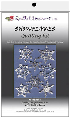 Quilled Creations Quilling Kit - Snowflakes
