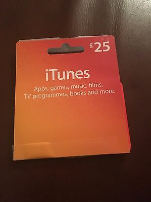 £25 iTunes Gift Card