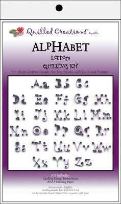 Quilled Creations Quilling Kit - Alphabet Letters
