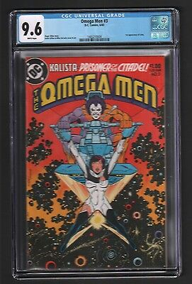 OMEGA MEN #3 - 1st APPEARANCE OF LOBO - KEITH GIFFEN ART & COVER - CGC 9.6