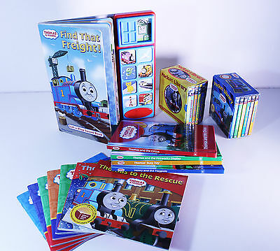 JOB LOT 24 Thomas and Friends books (includes interactive sound book)