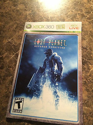 Lost Planet Extreme Condition - Xbox 360 - Instruction Manual Only