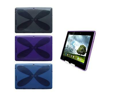 View Stand Holder + TPU Gel Skin Case Cover for ASUS Transformer Pad TF300T