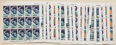 [L2a] Jordan 1966 Gemini mission stamps complete 45 sets  in sheets MNH**