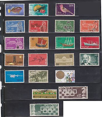 (U2-3) 1970 Israel mix of 21stamps 20A to 2.40 (B)