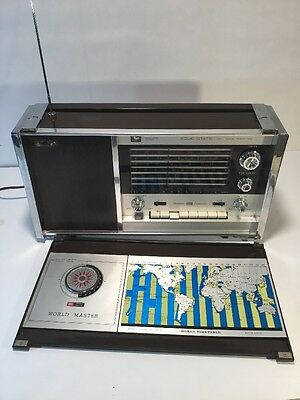 Rare Vintage Ross All Wave Solid State 8 Band Receiver Circuit Re-8000 ((