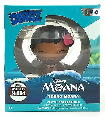 Funko Dorbz Young Moana Disney 196 Specialty Series Exclusive Vinyl New Limited