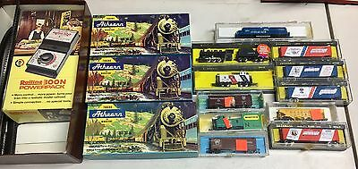 Bachman, Minitrix, Athearn, N Scale Train Set Lot Of 14