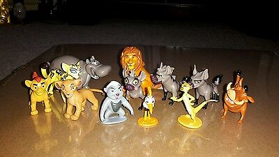 12 Figures Disney The Lion Guard figurines toys cake toppers Lion King