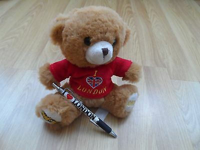 London Teddy Bears 17cm in size very soft toy