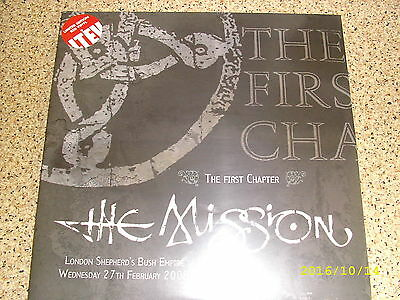LP The mission - the first chapter 2 lp set red vinyl new & sealed