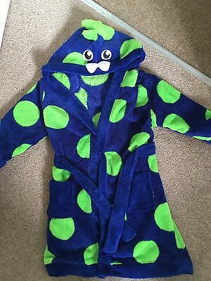 18-24 Months Boys Dressing Gown
