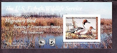 US RW75a $15 2008-09 Federal Duck Stamp Self Adhesive NH SCV $22.50