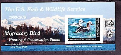 US RW76a $15 2009-10 Federal Duck Stamp Self Adhesive NH SCV $22.50