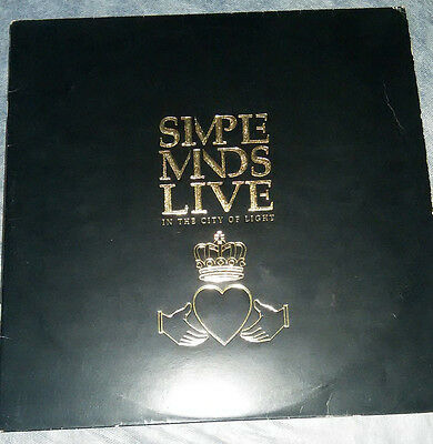 Simple Minds – Live In The City Of Light_2 x Lp´s Spanish _Original Near mint