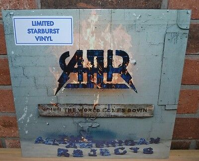THE ALL-AMERICAN REJECTS - When the World Comes Down, Ltd STARBURST VINYL New!