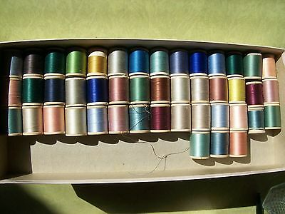45 SPOOLS BELDING CORTICELLI Sewing Thread
