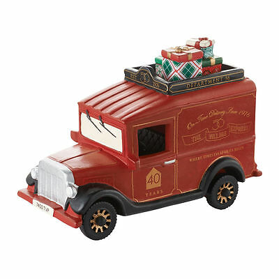 "Dept 56 SV 40th ANNIVERSARY ""VILLAGE EXPRESS VAN"" 4050945 NEW 2016 Free Shipping"