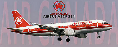 Air Canada Airlines Airbus A320 Photo Magnet (PMT1607)