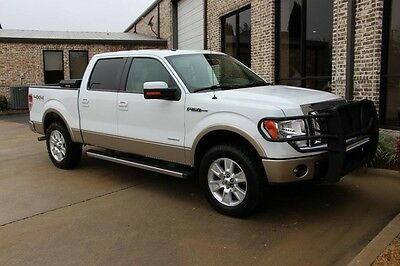 2012 Ford F-150  Oxford White Lariat Plus Off Road Pkg Navigation Moonroof 20s Cooled Seas More!