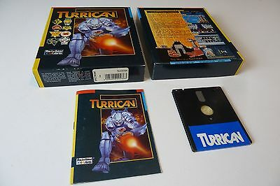 Turrican by Rainbow Arts for Spectrum on Disk