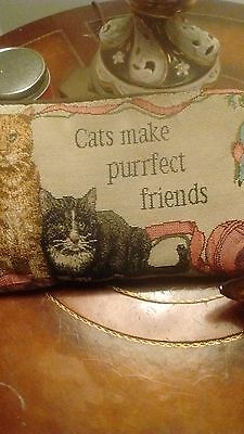 Cat Tapestry Pillow