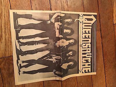 Vintage 1983 Queensryche News Letter